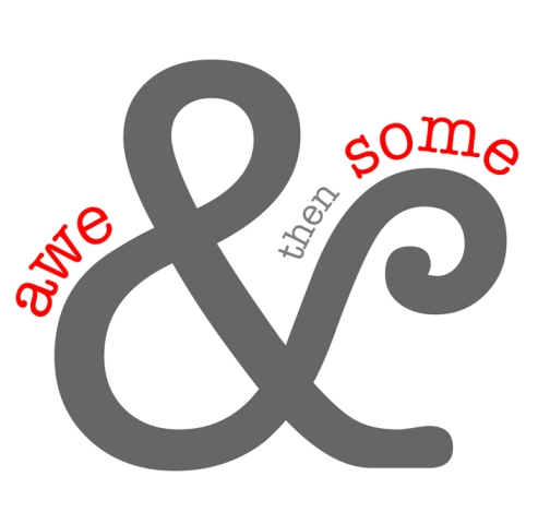 Aweandthensome logo, awe&thensome logo, aweandthensome, awe&thensome, David Goorevtich photography