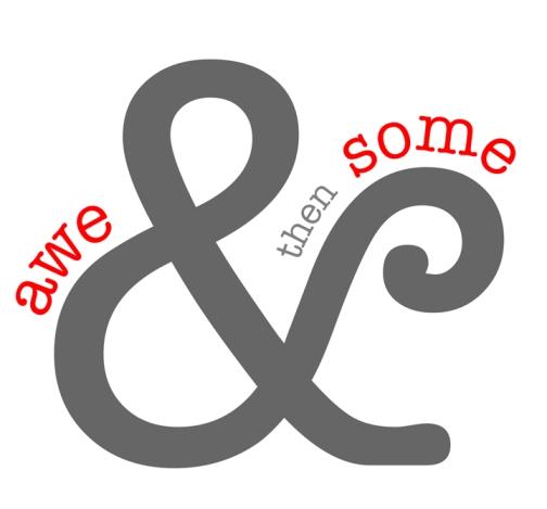 aweandthensome logo, awe&thensome logo