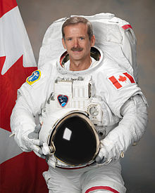 We love an astronaut with a maple leaf!