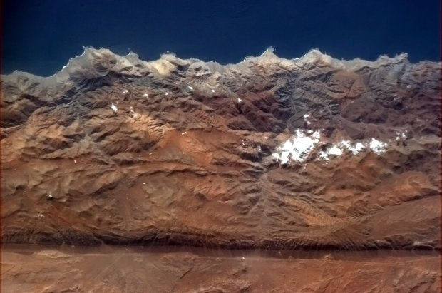 Fault Line in the Andes