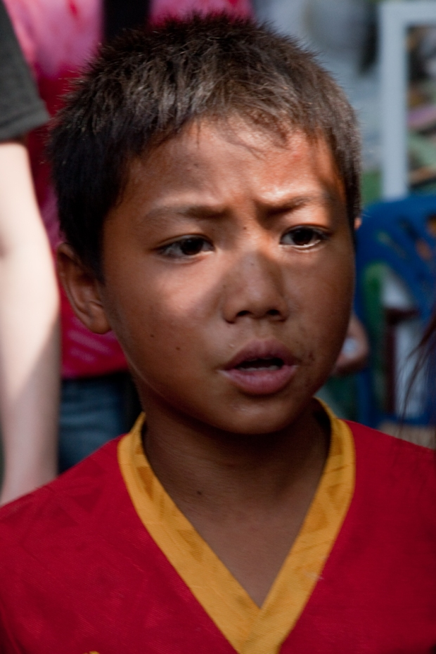 This is NOT Kid X. But this is how is story started - as street beggar in Myanmar. You can see that his life depends upon the day's take